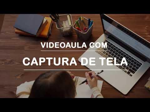 VIDEOAULA COM CAPTURA DE TELA