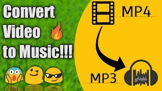 How to Convert mp4 to mp3 on Android easily || Convert video to music without losing quality