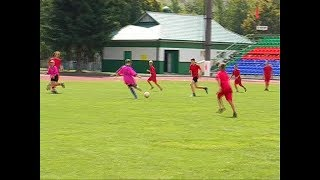 Юные футболисты Гомельщины состязались в  Речице