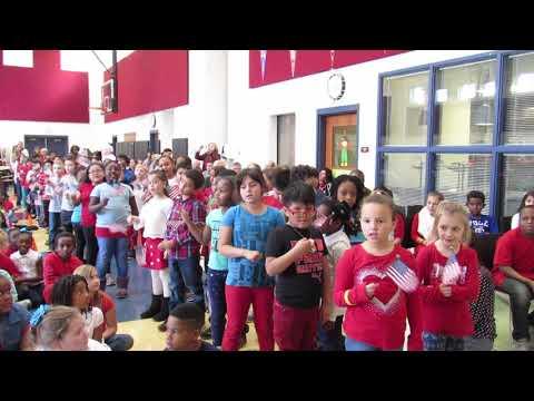 Whitehall's Etna Road Elementary School second-grade class