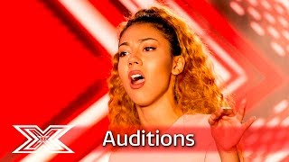 Chanal Benjilali sings Ex-Factor on X Factor! | Auditions Week 2 | The X Factor UK 2016