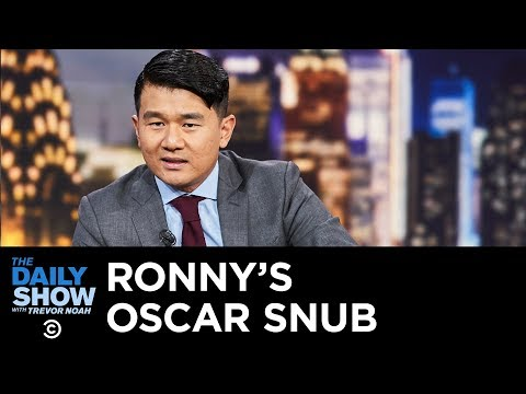 Ronny Chieng's Oscar Snub | The Daily Show