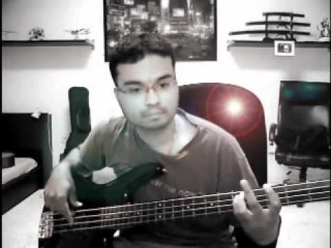 Coldplay - Lovers in Japan (bass cover)