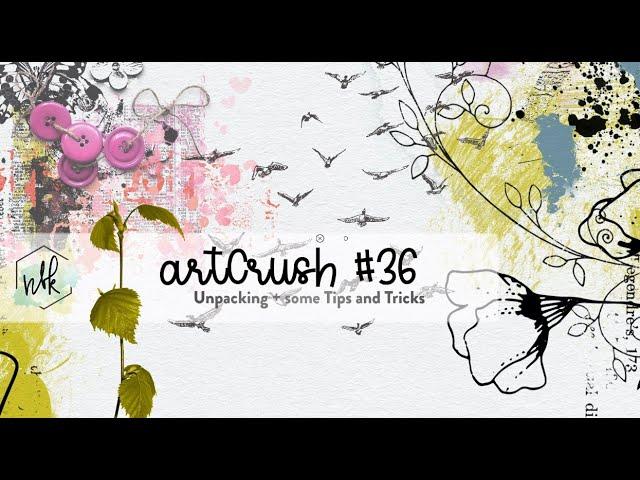 artCrush #36 Unpacking with Tips + Tricks