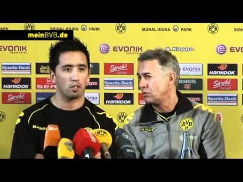 Trainingslager 2010/11 - Tag 3: Pressekonferenz mit Lucas Barrios
