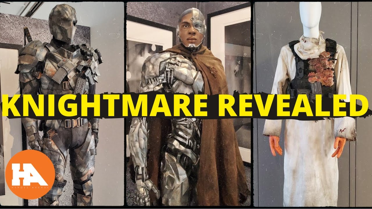 Knightmare Costumes Of 7 Justice League Characters Revealed