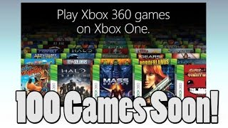 List of 360 compatible games with the Xbox One Coming Next Week