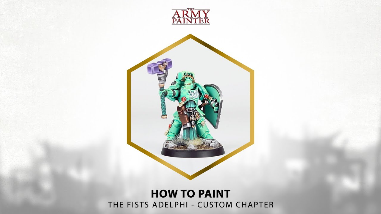 How To Paint: Fists Adelphi (Custom Chapter with ID Card Project)