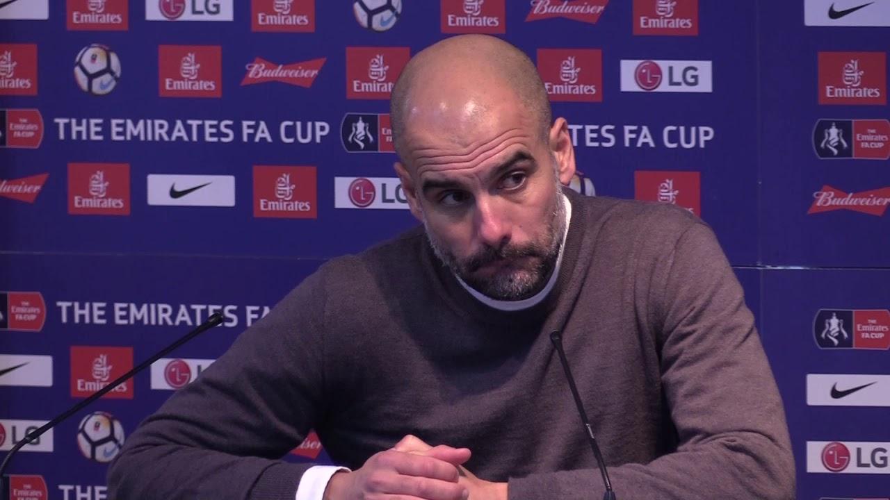 Guardiola lauds 'fantastic' Silva's fight following FA Cup win