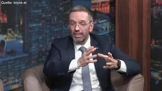Herbert Kickl bei krone.tv: Es ist meine Verantwortung die Bevölkerung zu schützen!