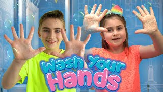 Wash Your Hands Song by Globiki