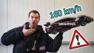 900€ XXL RC AUTO fährt über 160 KM/H! - Traxxas Xo1 im Test