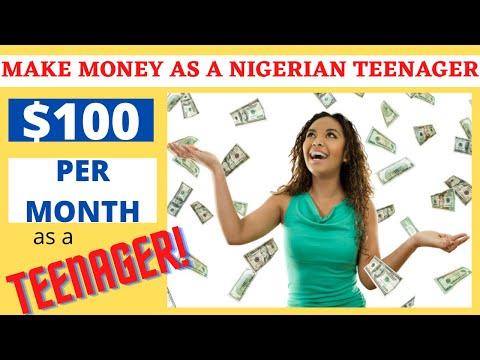 How Nigerian Teens Make Money Online 2020 | Make Money Online In Nigeria as a Teenager
