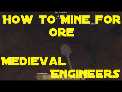 How to Mine Iron Ore Medieval Engineers Update 5.1