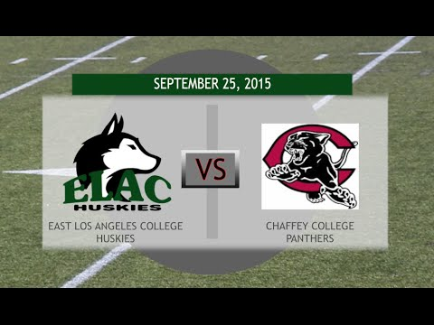 East Los Angeles City College VS. Chaffey College