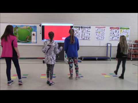 Technology Integrated Lesson in Physical Education