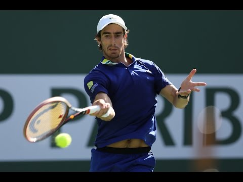 BNP Paribas Open 2017: Pablo Cuevas Hot Shot