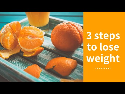 3 Simple Steps to Lose Weight Fast