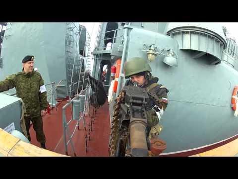 Видео — БПК Североморск Арктика 2015