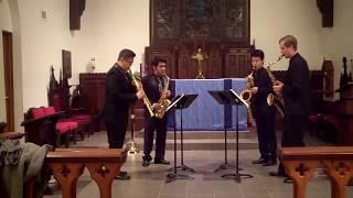 J.S. Bach Italian Concerto Movement 2 – Meraki Quartet