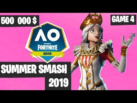 Fortnite Summer Smash Game 4 Highlights - Fortnite Australian Open [Fortnite Tournament 2019]