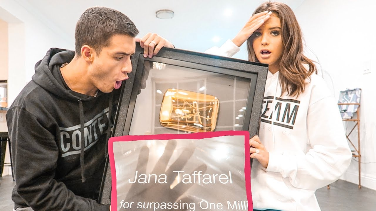 youtube-sent-us-another-youtubers-1-million-plaque-live-reaction