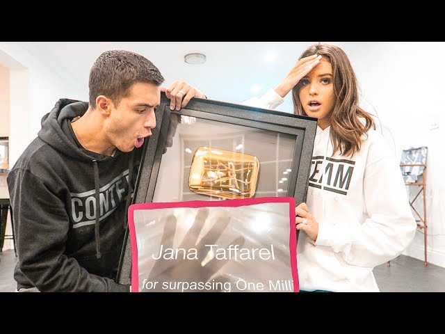 WE GOT ANOTHER YOUTUBERS 1 MILLION PLAQUE!