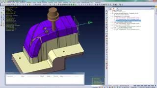 VISI 2016 R1 - 3D CAM Restschruppen