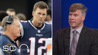 Ian O'Connor details rift between Tom Brady and Bill Belichick | SC with SVP | ESPN