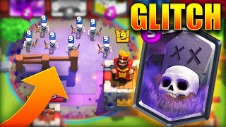 SPAWN SKELETONS OUTSIDE THE MAP! | Clash Royale MythBusters #14