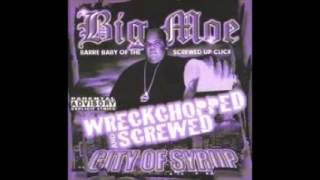 City of Syrup - big moe - wreckchopped and screwed