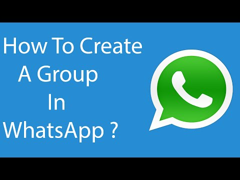 How do you do a group chat on whatsapp