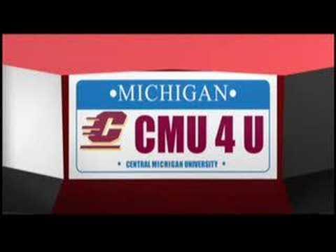 CMU License Plate