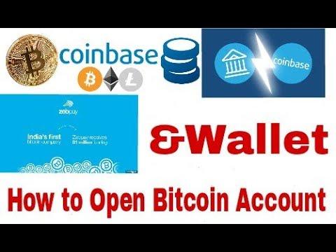 bitcoin account open india
