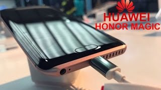 ★Huawei Honor Magic  latest smartphone into Dual-lens camera, Eight Curved Body With Rose Gold Frame