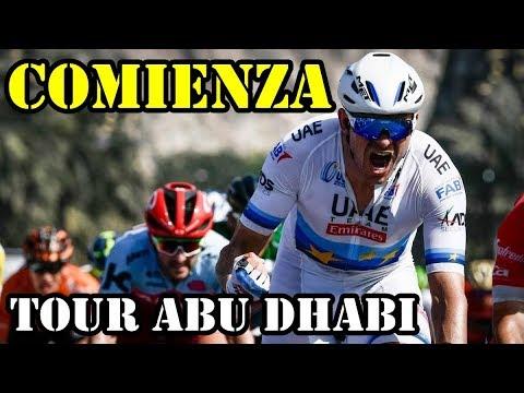 COMIENZA TOUR DE ABU DHABI 2018/KRISTOFF GANA ETAPA Y LIDERATO