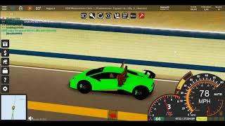 Lamborghini s'écrase va 200 mph (ROBLOX ultime conduite vers l'ouest des îles)