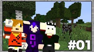 【Minecraft】マインクラフターの日常!part1【コラボ実況】 thumbnail