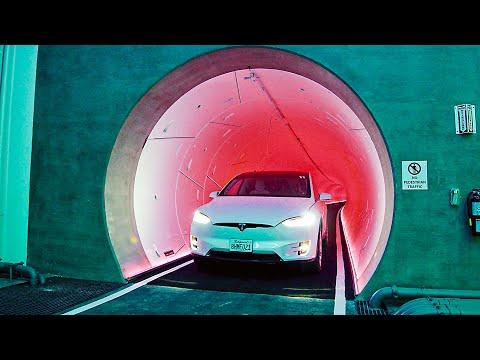 Tesla's Underground Transportation System   Las Vegas Convention Center Loop
