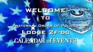 Welcome to the FOP LODGE 2F-DC Calendar of Events