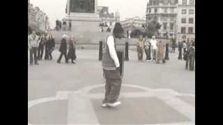 Obi Smalls Popping In Trafalgar Square 2004
