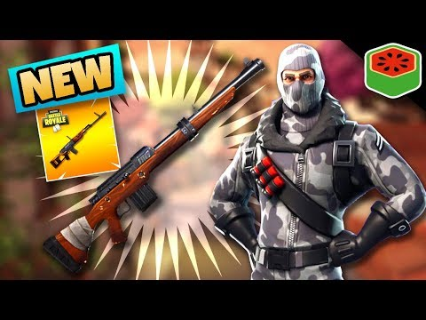 NEW HUNTING RIFLE! OP OR GARBAGE!? | Fortnite Battle Royale