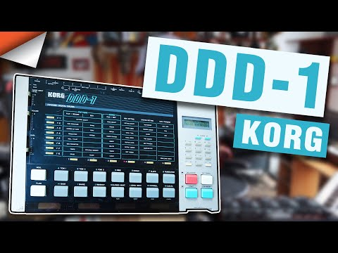 Korg DDD -1: Unboxing & Fun