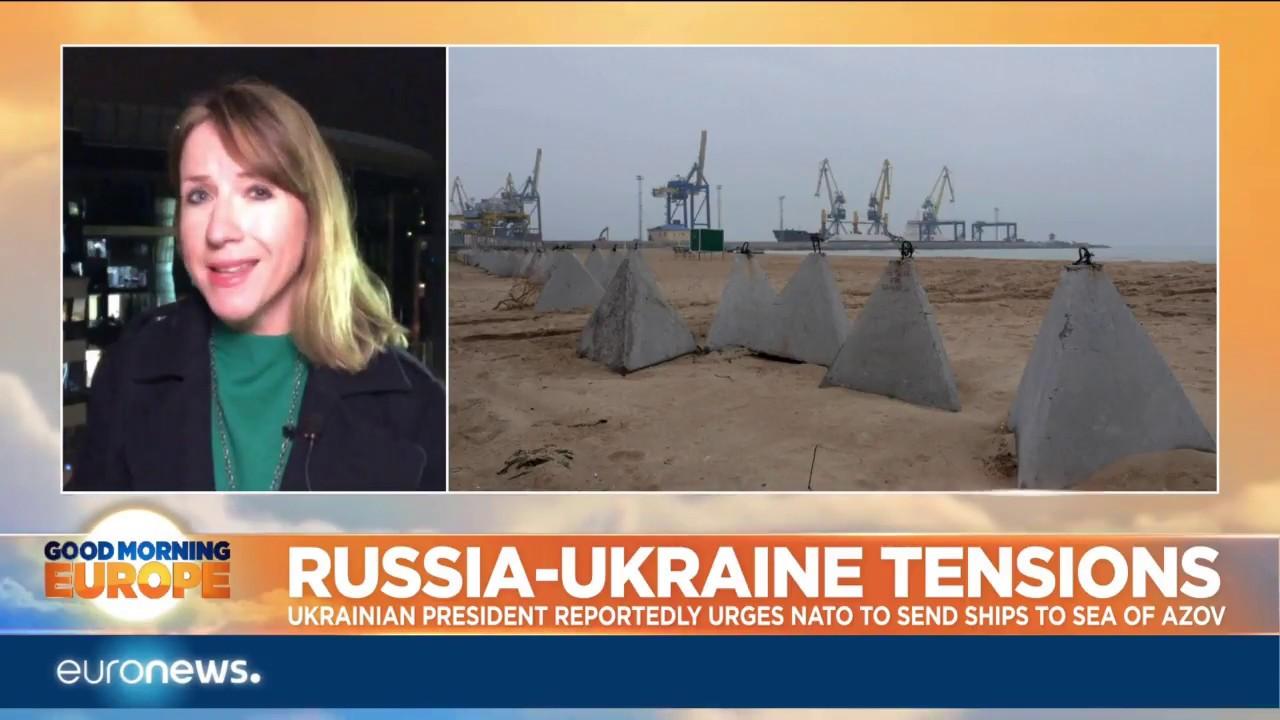 Russia-Ukraine tensions: President Poroshenko urges NATO to send ships to the Sea of Azov | #GME