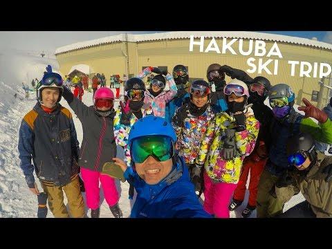 Japan Ski Trip in Hakuba, Tokyo FEB2017