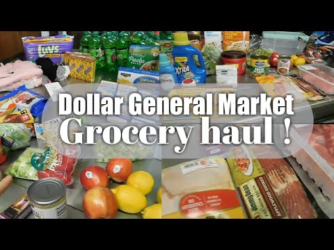 Dollar General Market Grocery Haul! | Budget Friendly Hauls 2019