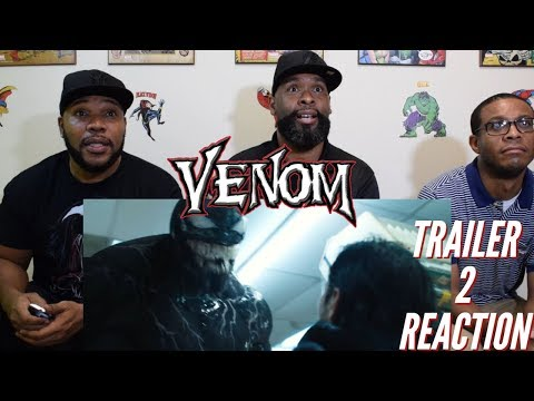 Venom Trailer 2 Reaction
