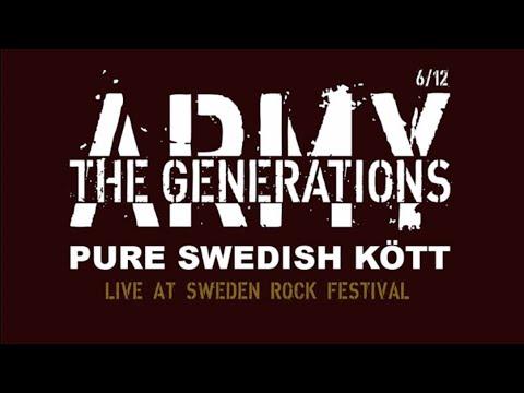 Pure Swedish Kött - The Generations Army, Live At Sweden Rock Festival 2019
