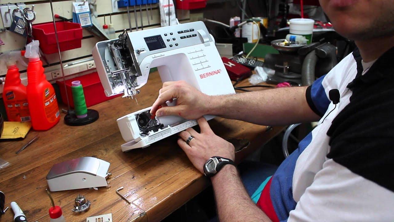 Basic Maintenance For Bernina Sewing Machines 830 Machine Threading Diagram