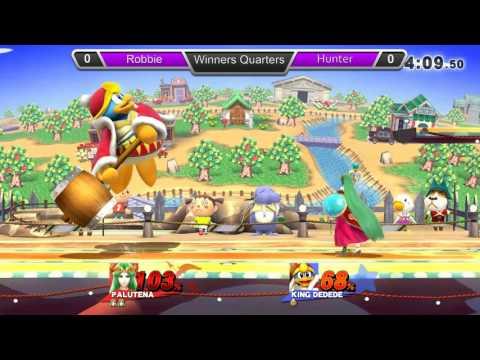 GQ Smash 4 Weekly 07/18 Winners Quarters: Hunter (King Dedede, Sheik) VS Robbie (Palutena)